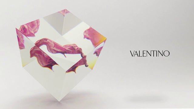 "Valentino ""Glass&Veil"""